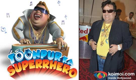 Bappi Lahiri Upset With Toonpur Ka Superrhero
