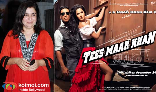 Farah Khan, Tees Maar Khan Movie Poster