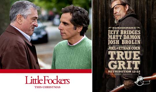 Little Fockers Movie Poster, True Grit Movie Poster