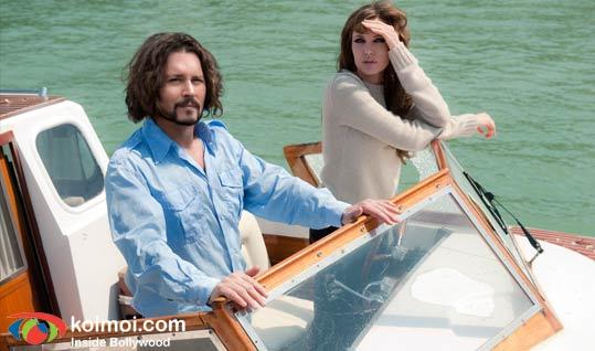 Johnny Depp, Angelina Jolie (The Tourist Movie Still)