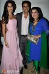 Katrina Kaif, Akshay Kumar, Farah Khan