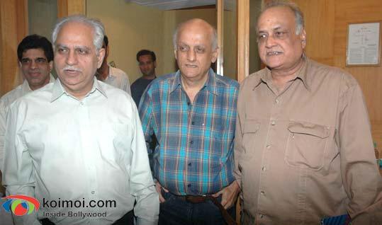 Ramesh Sippy, Mukesh Bhatt, T. P. Agarwal
