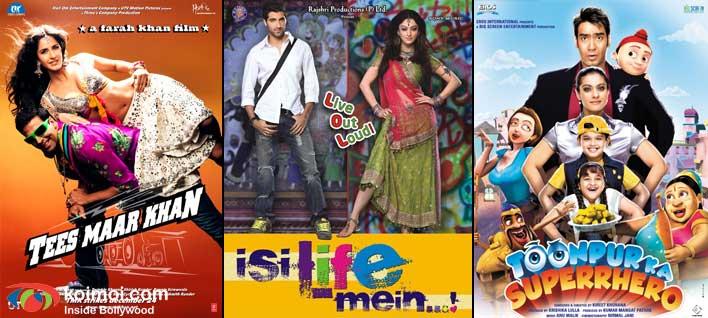 Tees Maar Khan Movie Poster, Isi Life Mein...! Movie Poster, Toonpur Ka Superrhero Movie Poster