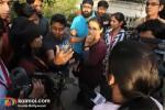 Vidya Balan (No One Killed Jessica Production Still)
