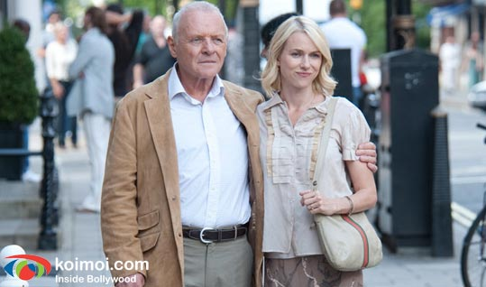 Anthony Hopkins and Naomi Watts (You Will Meet A Tall Dark Stranger Review)