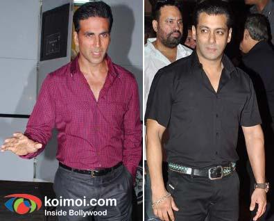 Akshay Kumar, Salman Khan