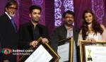 Amitabh Bachchan, Karan Johar, Sanjay Leela Bhansali, Aishwarya Rai Bachchan