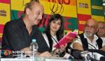Anupam Kher, Katrina Kaif, Pritish Nandy, Gulzar