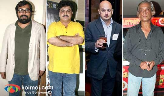Anurag Kashyap, Ashok Pandit, Aditya Bhattacharya & Sudhir Mishra