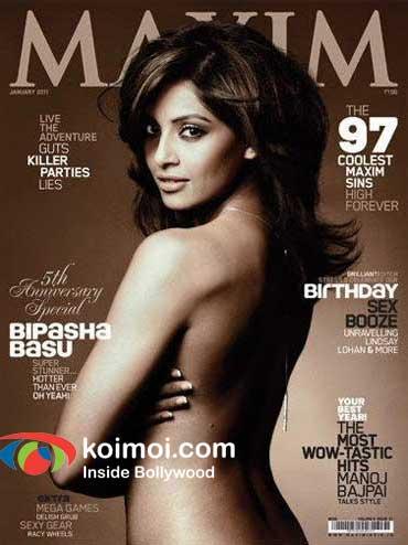 Birthday Girl Bipasha Basu Topless For A Magazine Cover