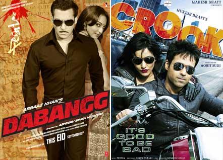 Dabangg Movie Poster, Crook Movie Poster