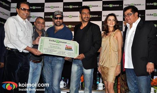 Dharmendra, Sunny Deol, Ajay Devgan, Kulraj Randhawa, Nitin Manmohan