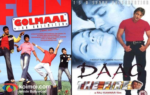 Golmaal Fun Unlimited Poster, Daag The Fire Poster