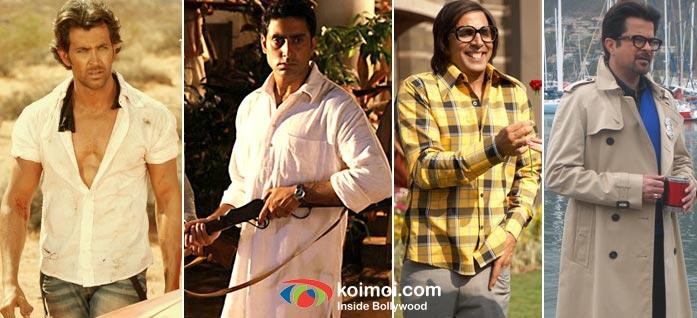 Hrithik Roshan, Abhishek Bachchan, Akshay Kumar, Anil Kapoor