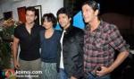 Hrithik Roshan, Adhuna Akhtar, Farhan Akhtar, Chunky Pandey