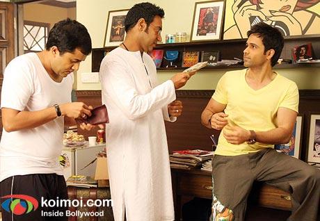 Omi Vaidya, Ajay Devgan, Emraan Hashmi