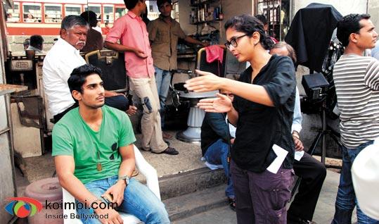 Pratiek Babbar, Kiran Rao (Dhobi Ghat Movie Stills)
