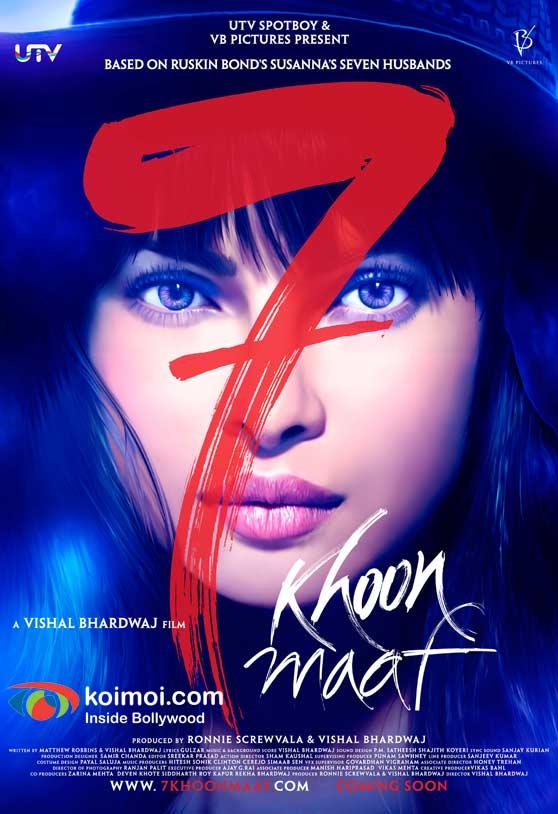 Priyanka Chopra (7 Khoon Maaf Movie Poster)