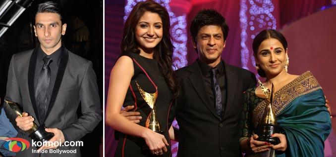 Ranveer Singh, Anushka Sharma, Shah Rukh Khan, Vidya Balan