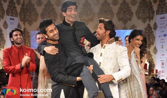 Ranveer Singh, Ranbir Kapoor, Manish Malhotra, Hrithik Roshan, Priyanka Chopra