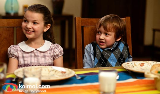 Daisy Tahan and Colin Baiocchi in a still from 'Little Fockers'