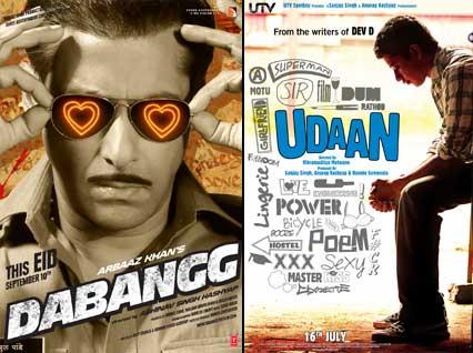 Salman Khan Dabangg Movie Poster, Udaan Movie Poster