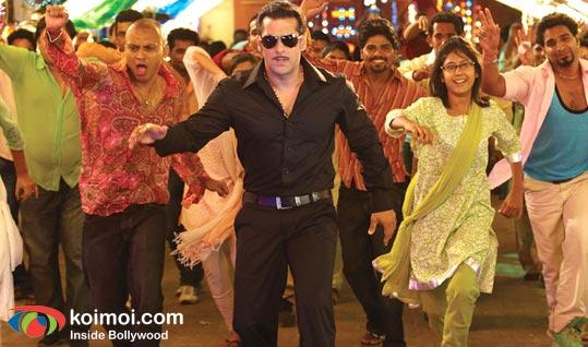 Salman Khan (Dabangg Movie Stills)