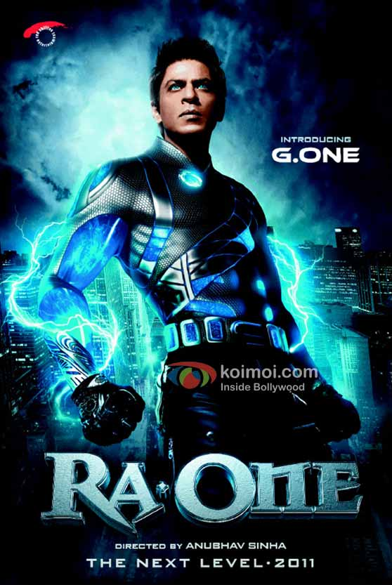 Shah Rukh Khan Ra.One Movie First Look Poster