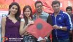 Shraddha Das, Shazahn Padamsee, Ajay Devgan, Madhur Bhandarkar
