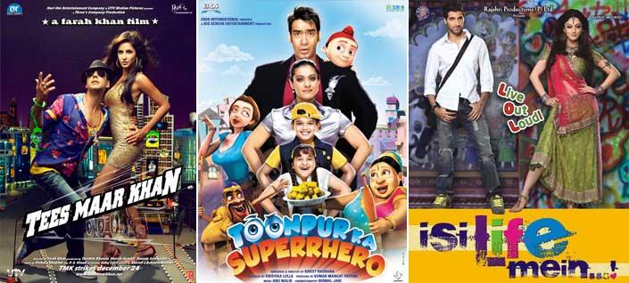 Tees Maar Khan Movie Poster, Toonpur Ka Superrhero Movie Poster, Isi Life Mein...! Movie Poster