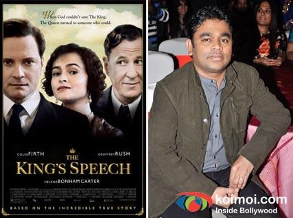 The King's Speech, A. R. Rahman