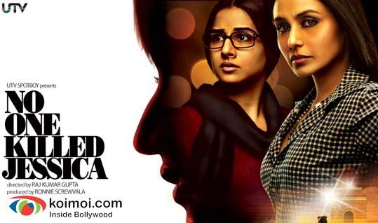 Vidya Balan, Rani Mukherjee (No One Killed Jessica Movie Wallpaper)