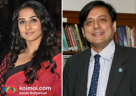 Vidya Balan, Shashi Tharoor Are PETA's Hottest Vegetarians