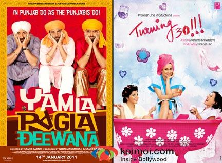 Yamla Pagla Deewana Poster, Turning 30 Poster