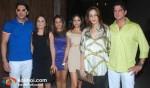 Zayed Khan, Malaika Khan, Natasha Khan, Farah Ali Khan, DJ Aqeel