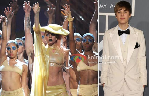 2011 Grammy Awards: Lady Gaga Won Big, Justin Beiber Lost Out