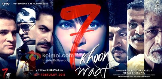 7 Khoon Maaf: Poor Show At Box Office