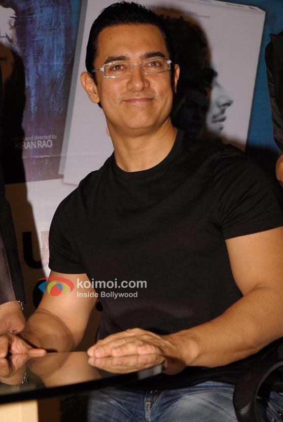 Aamir Khan At 'Dhobi Ghat' Movie DVD Launch
