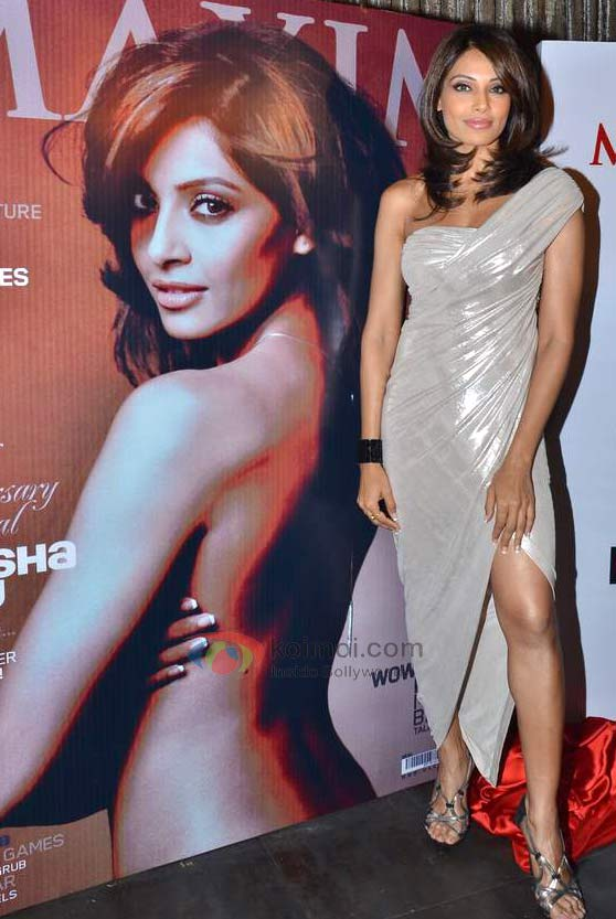 Bipasha Basu At Maxim Cover Launch Event