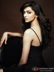 Deepika Padukone Gives A Sensuous Pose In Black