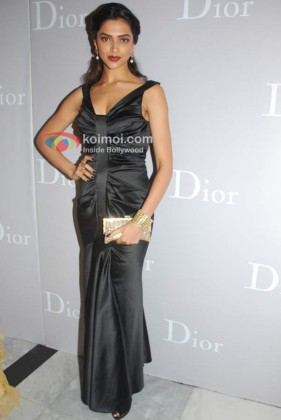 Deepika Padukone At Dior Store Launch Event