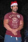 John Abraham At Christmas Celebrations