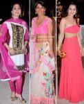 Juhi Chawla, Koel Puri, Ameesha Patel