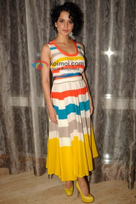 Kangana Ranaut At UTV Stars' 'Live My Life' Show To Meet Fans