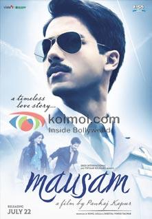 Shahid Kapoor (Mausam Movie Poster)