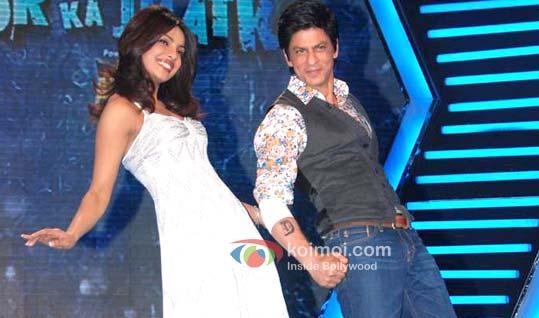 Priyanka Chopra Inspires Shah Rukh Khan For Zor Ka Jhatka