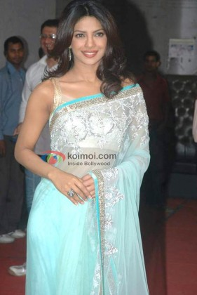 Priyanka Chopra On The Sets Of 'Jhalak Dikhhla Jaa' Show