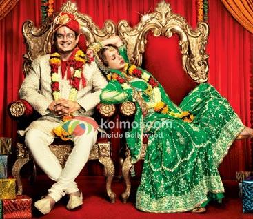 R Madhavan, Kangana Ranaut (Tanu Weds Manu Movie Stills)