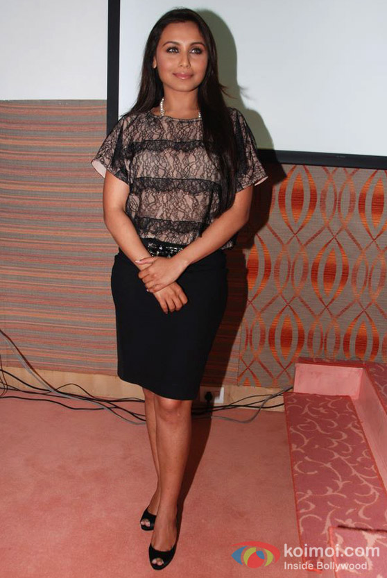 Rani Mukerji At Indian Stroke Association Event