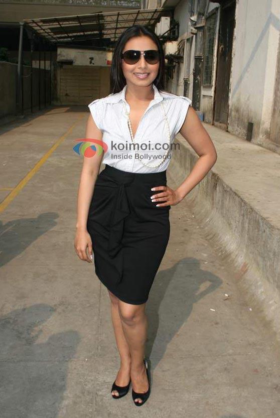 Rani Mukerji At 98.3 FM Radio Mirchi To Promote 'No One Killed Jessica' Movie